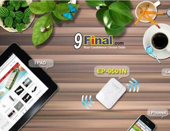 EDUP EP-9501N Mini Portable 3G + Wifi Router 11 N 150 Mbps
