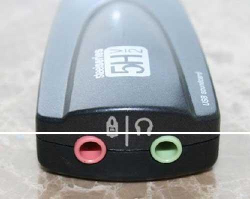 SteelSeries Siberia 5HV2 USB Virtural 71 SOUNDCARD High Quality Gamer Usb Sound Card