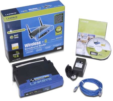 linksys wireless g router manual